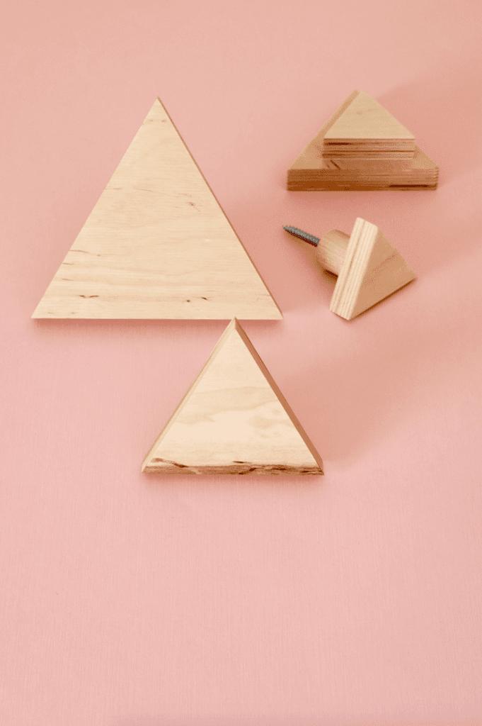 Wieszak trójkąt